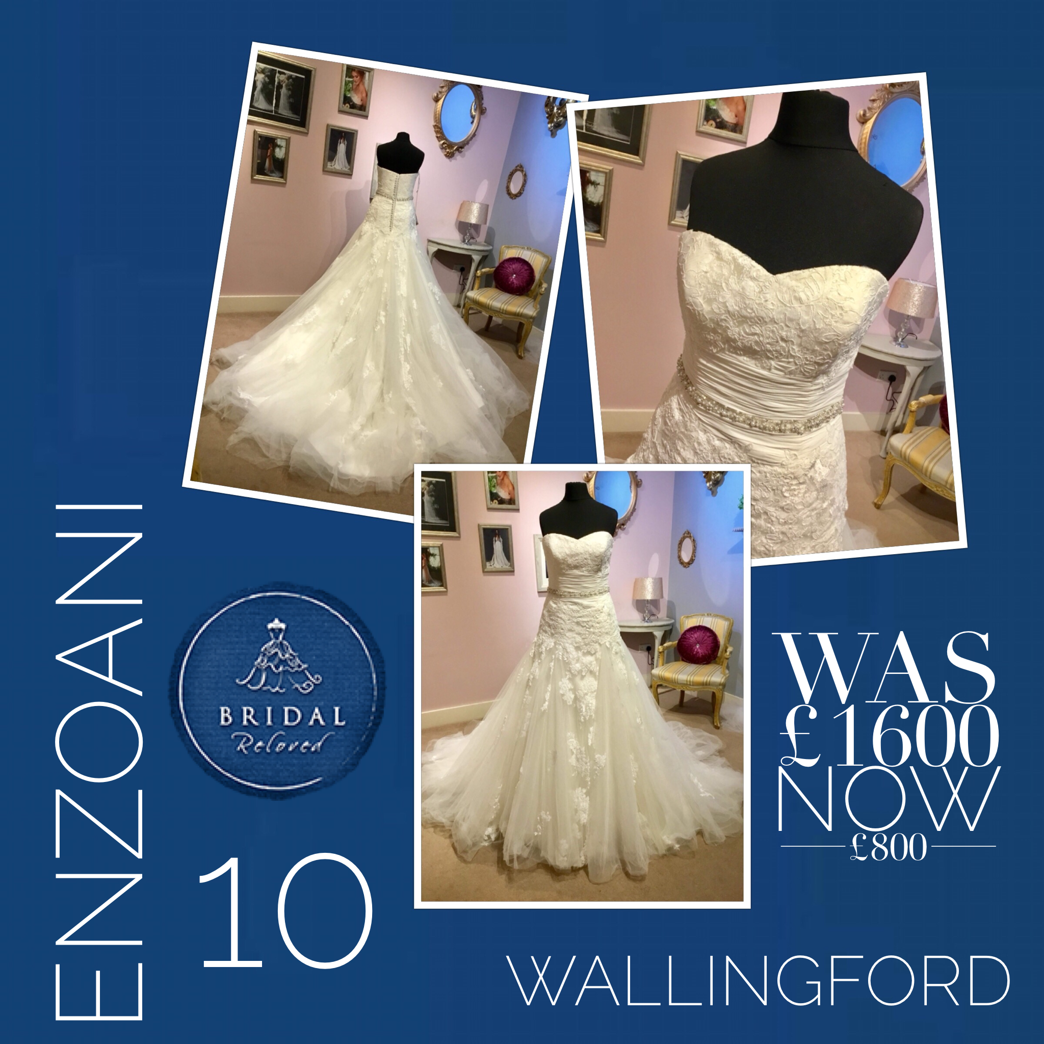 ac177e37a05ad 💓New Arrivals!💓 This stunning dress by @enzoani is now available in our  award winning boutique ❤ Get in touch to book your private appointment ...