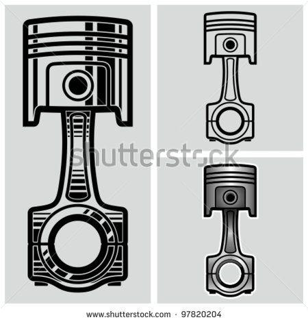 Piston Stock Photos Images Pictures Engine Tattoo Car Tattoos Piston Tattoo