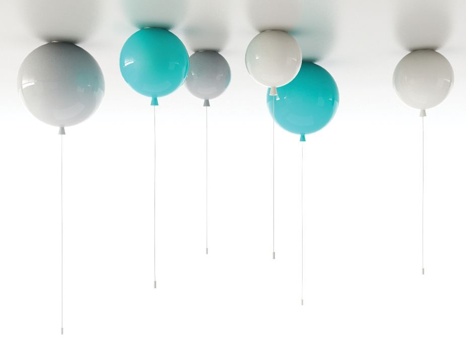 Plafoniere Ikea Bambini : Memory ceiling balloon lights by boris klimek for brokis light