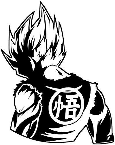 Super Saiyan Goku Dragon Ball Z Automotive Decal//Bumper Sticker