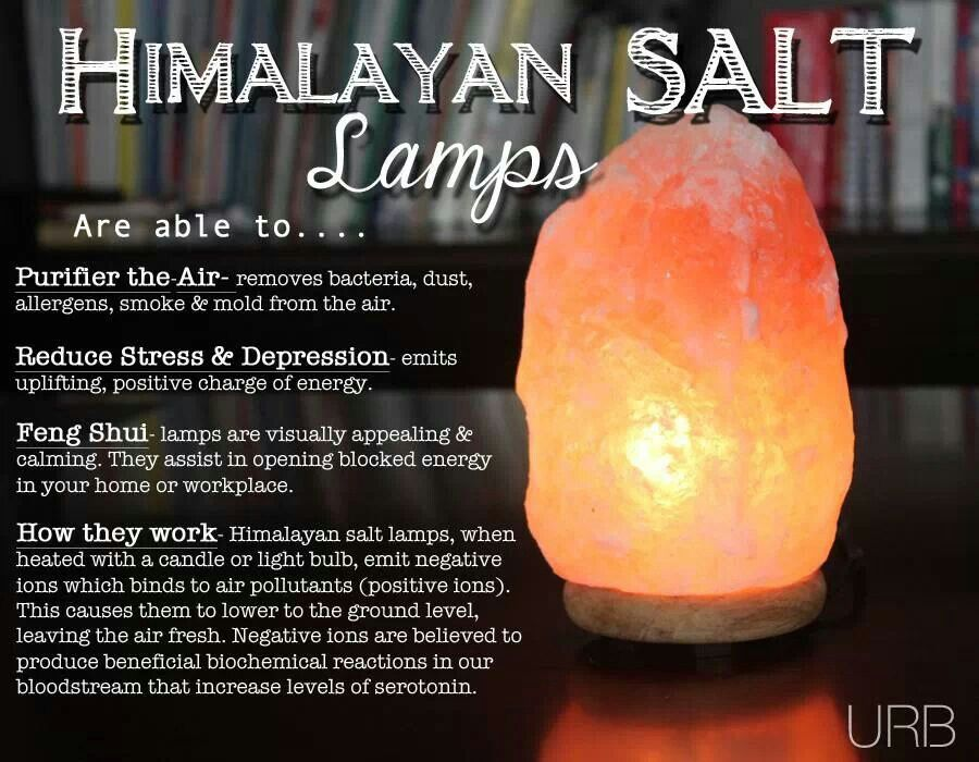 Himalayan Sea Salt Lamp Benefits
