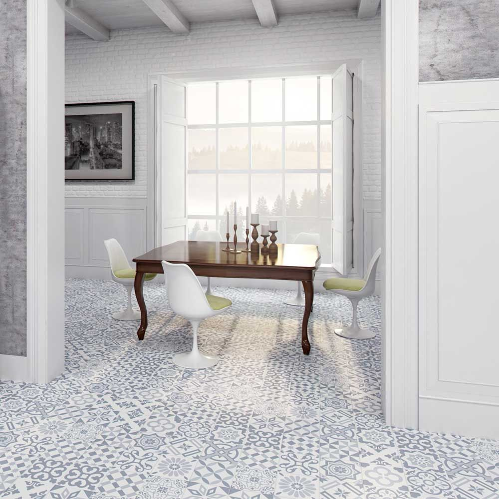 Brandeis Blue Decor Tiles | Walls and Floors | Upscale tile and bath ...