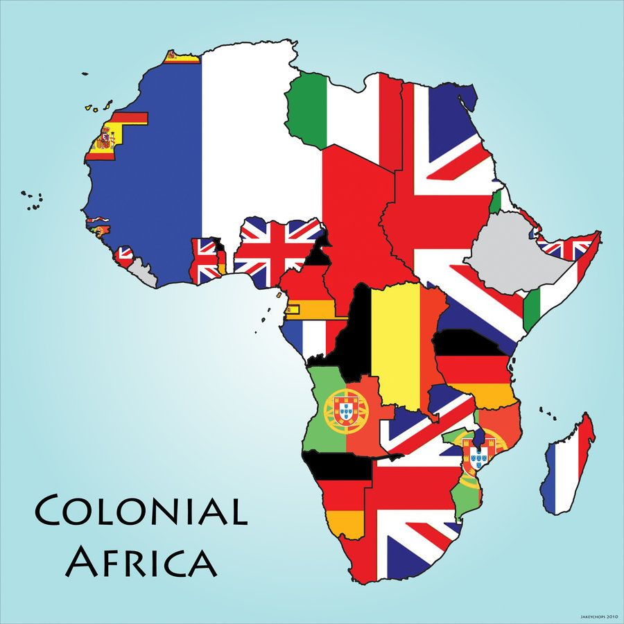 Colonial Africa - What does this map tells us about african independence