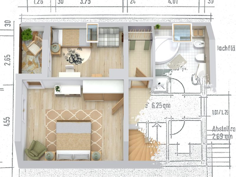 Draw A Floor Plan From A Blueprint Create Floor Plan Floor Plans Rendered Floor Plan