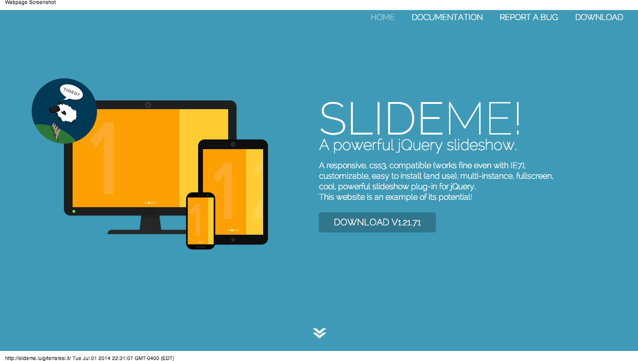 Slide Me: A powerful jQuery slideshow  | Sliders, Galleries