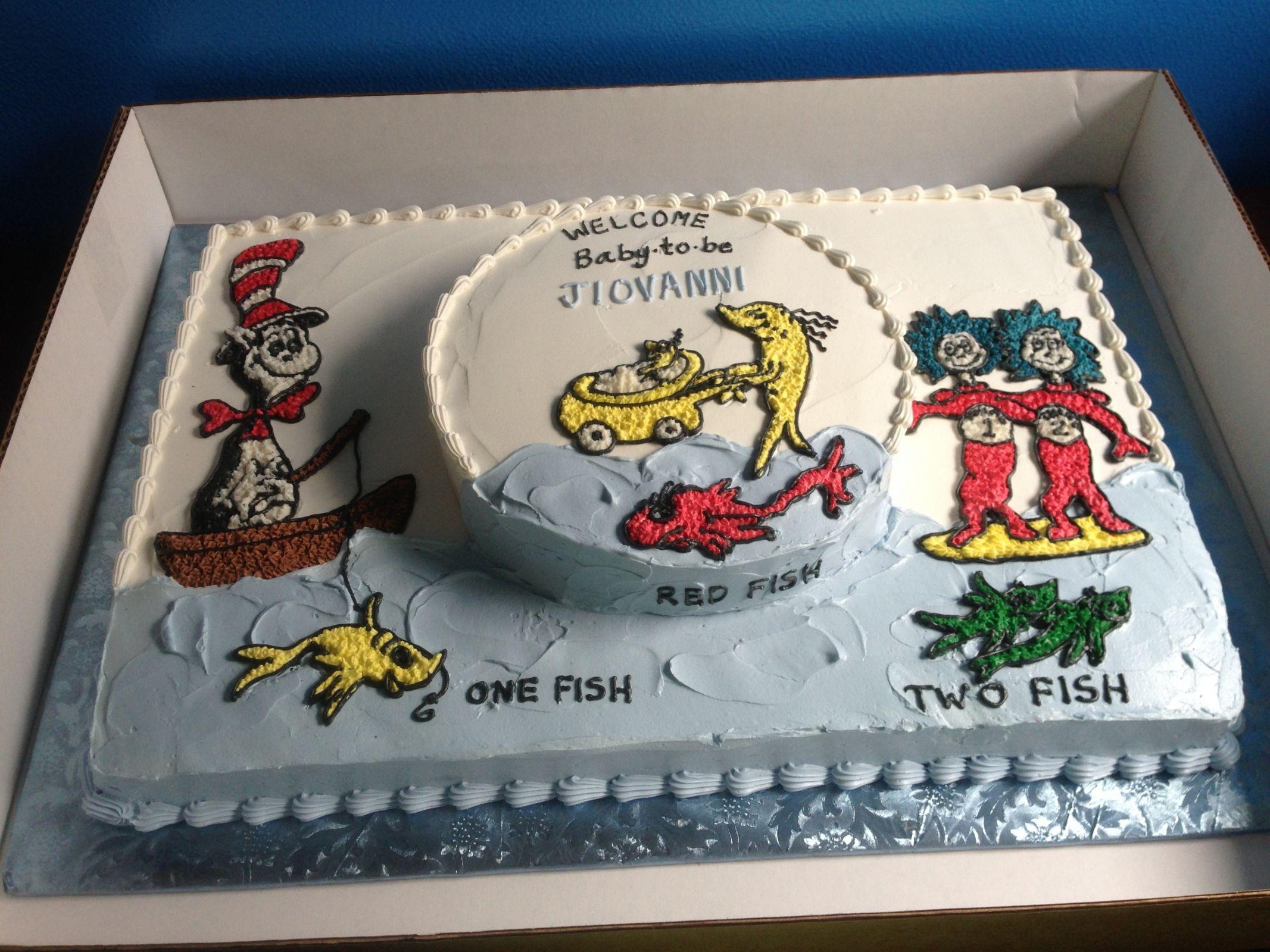 Dr Seuss Sheet Cake Google Search Shower Cakes Seuss Cakes