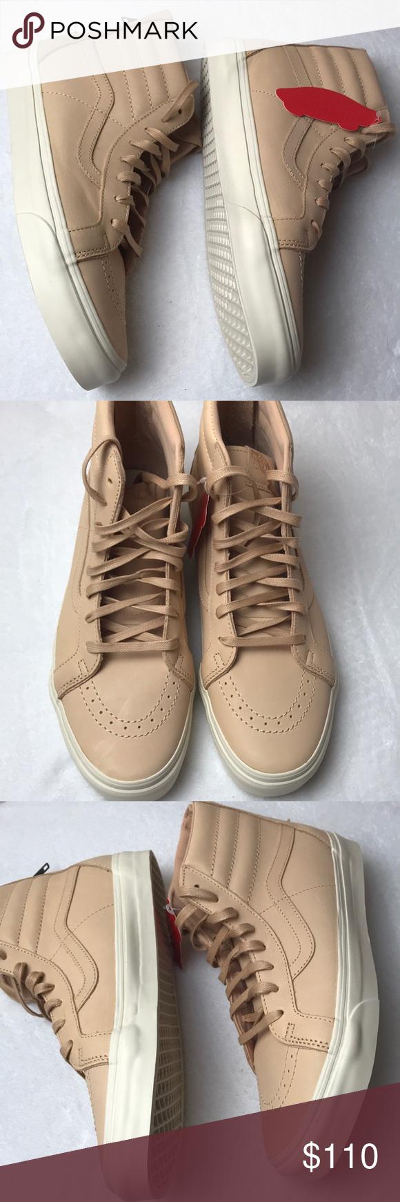 9ab073ee0b0e6b Vans SK8-Hi Reissue Zip Veggie Tan Leather mens Vans SK8-Hi Reissue Zip  Veggie Tan Leather mens shoes size 11. Brand new in box. Top of box  slightly creased ...