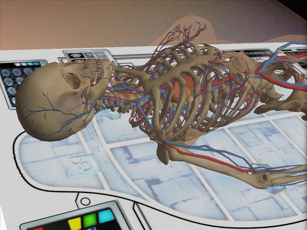 Una propuesta para usar el celular con tus alumnos . Anatomy 4D ...