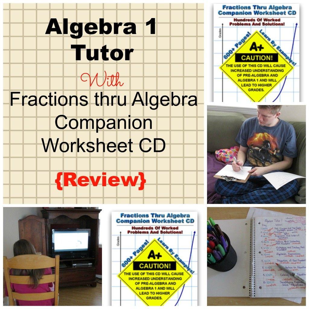 Algebra 1 Volume 1 An Algebra Tutor At Home Review