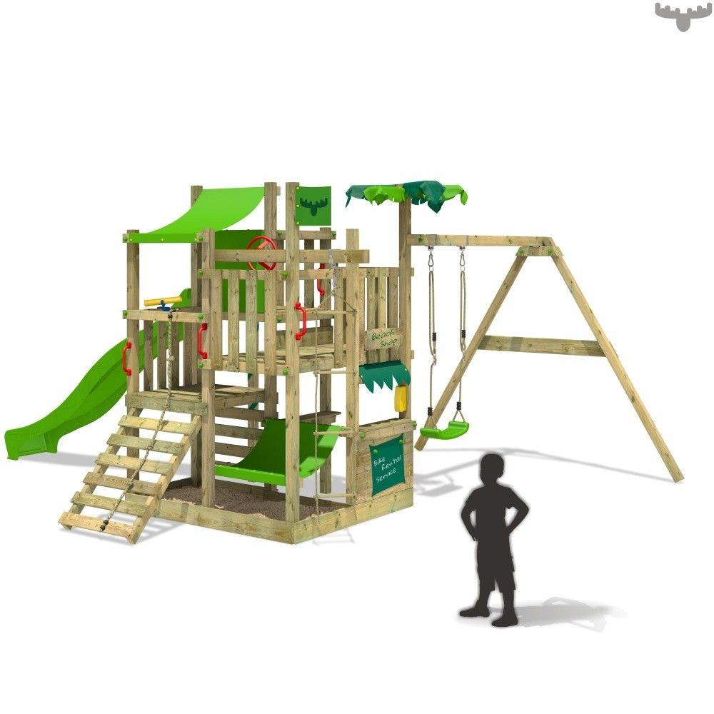 Climbing Frame BananaBeach Big XXL with swing. Large selection of ...
