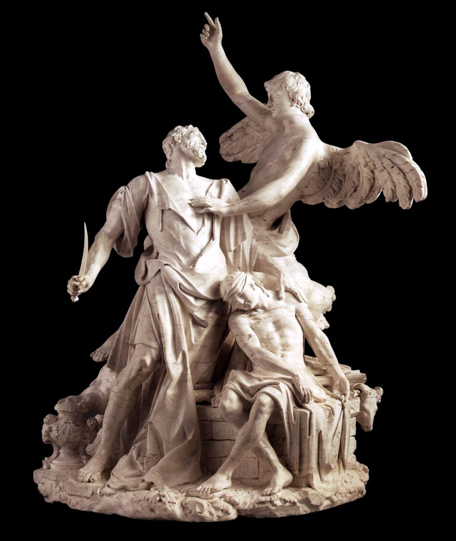 The Sacrifice Of Abraham El Sacrificio De Abraham 1753