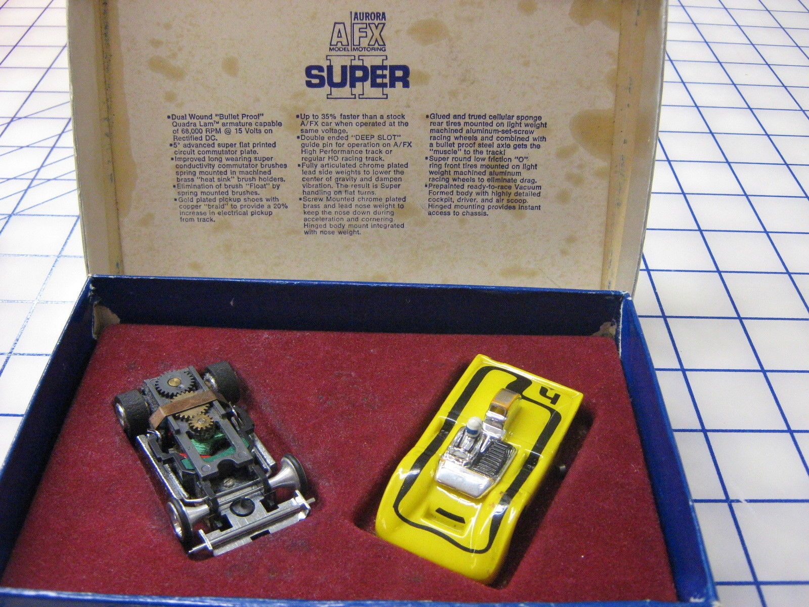 Afx Super Ii Slot Car Slot Cars Slot Car Racing Ho Slot Cars
