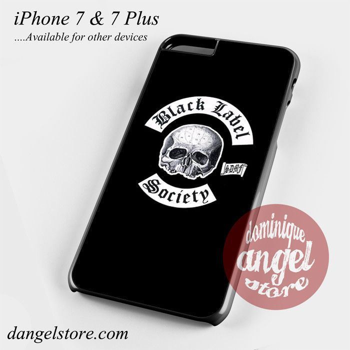 Black Label Society Phone Case for iPhone 7 and iPhone 7 Plus