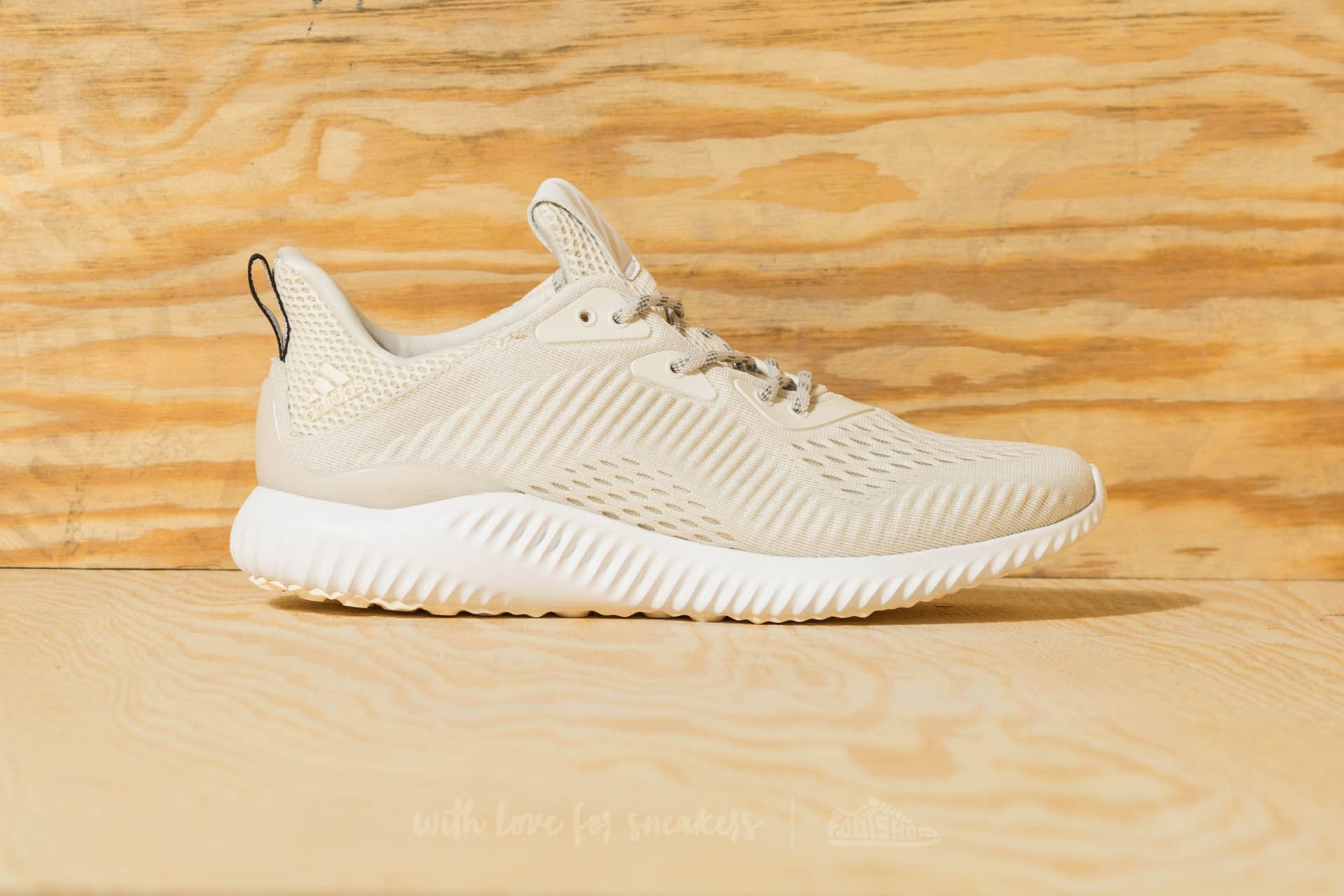 bc39a2935f13 adidas alphabounce em Chalk White  Footwear White  Talc at a great price 84  € buy at Footshop