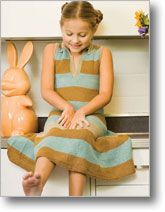 a good stripe dress - really want to make this one for Emma.  : )