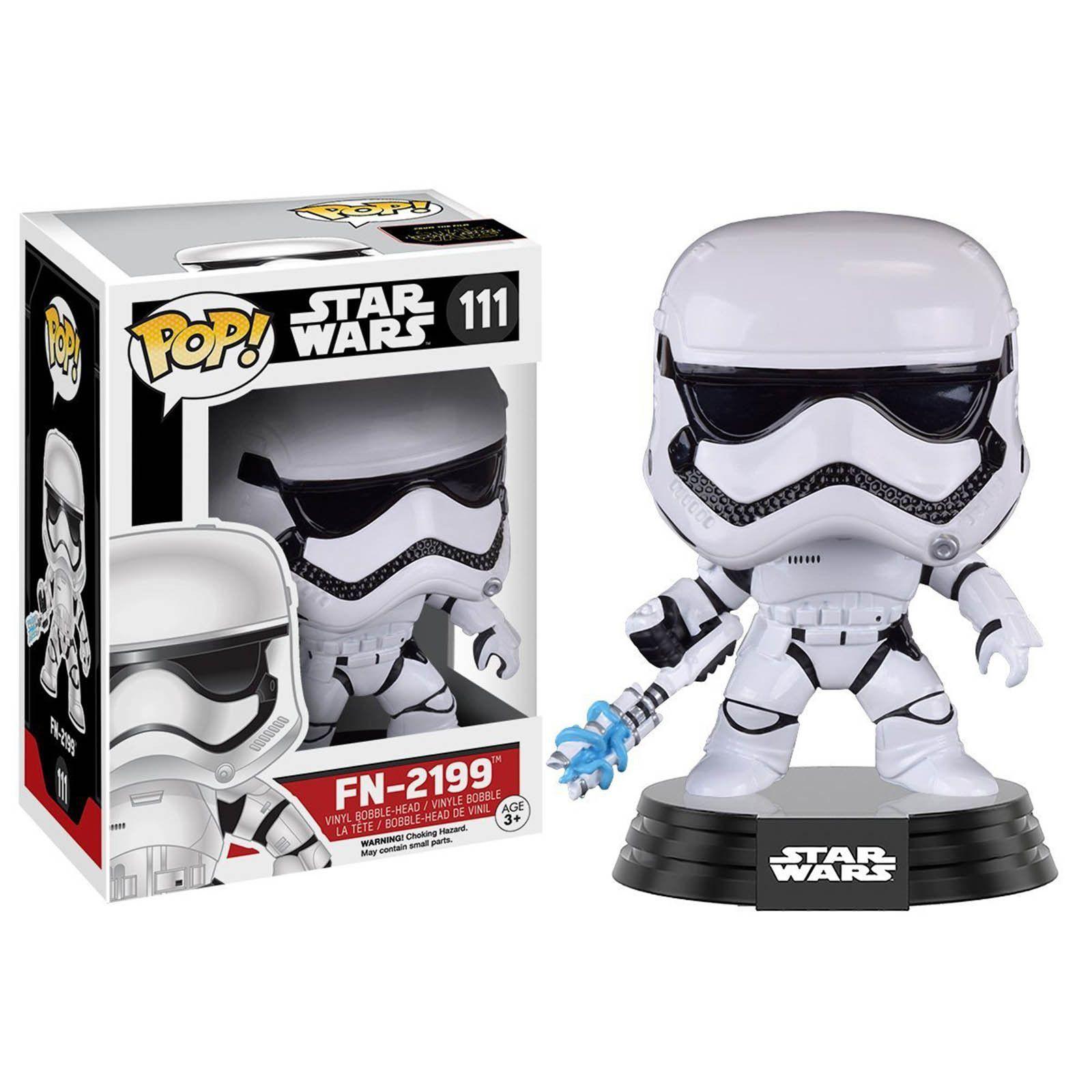 Funko Star Wars Force Awakens Pop Fn 2199 Trooper Bobble Head Vinyl Figure Funko Pop Star Wars Star Wars Toys Star Wars Stormtrooper