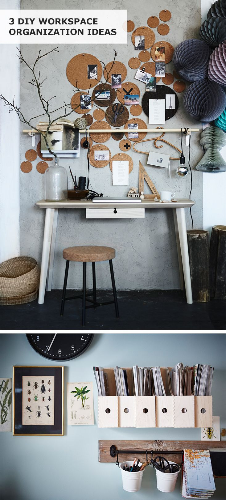 3 diy workspace organization ideas you can do this weekend on beautiful home desk organization ideas make comfortable what it will do for you id=77432