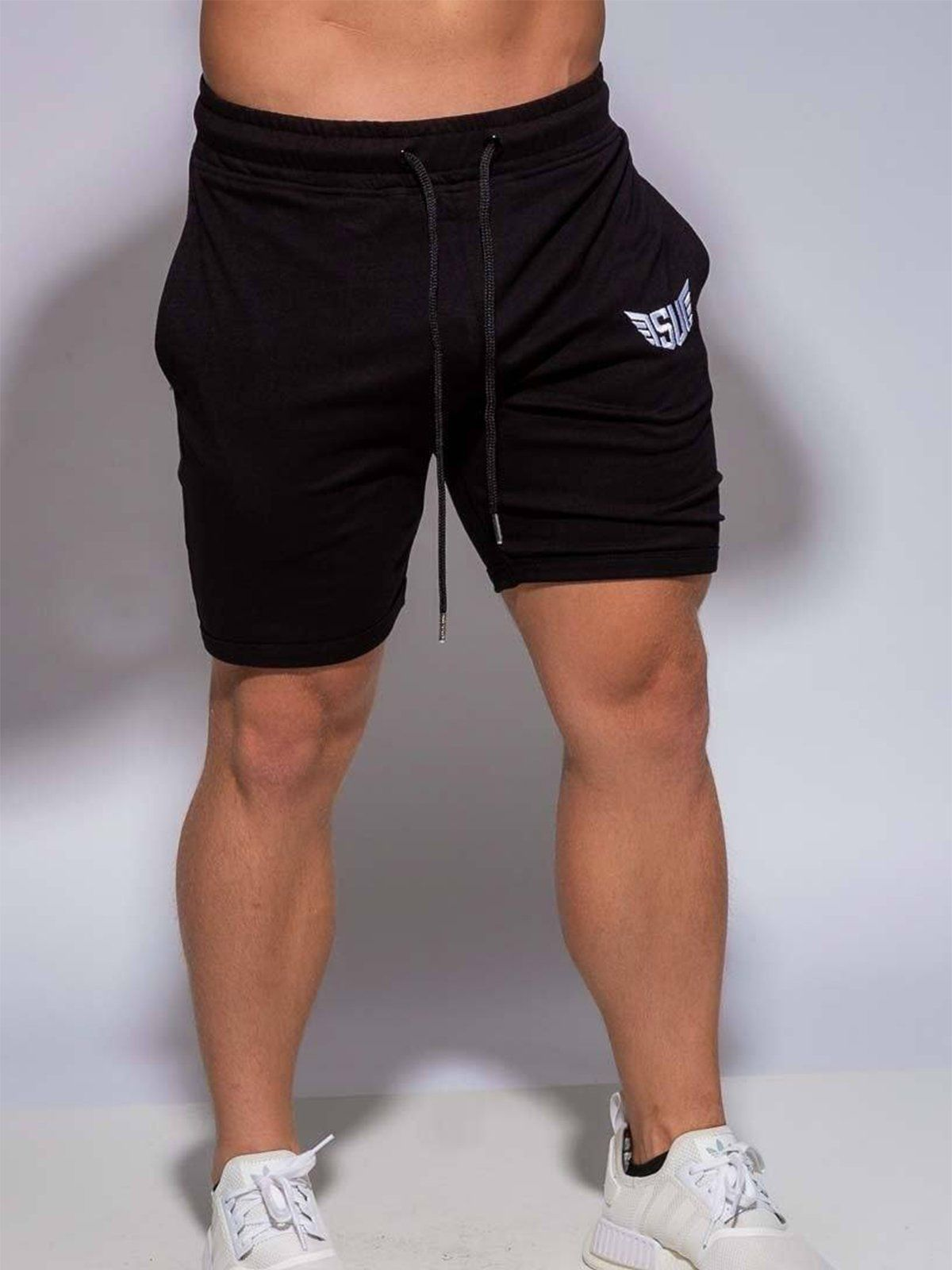 Size Up Workout Shorts Black Fitted Athletic Pants For Men Size Up Apparel Men Mensfashion Menswear M Sport Outfit Men Gym Wear For Women Mens Outfits [ 1600 x 1200 Pixel ]