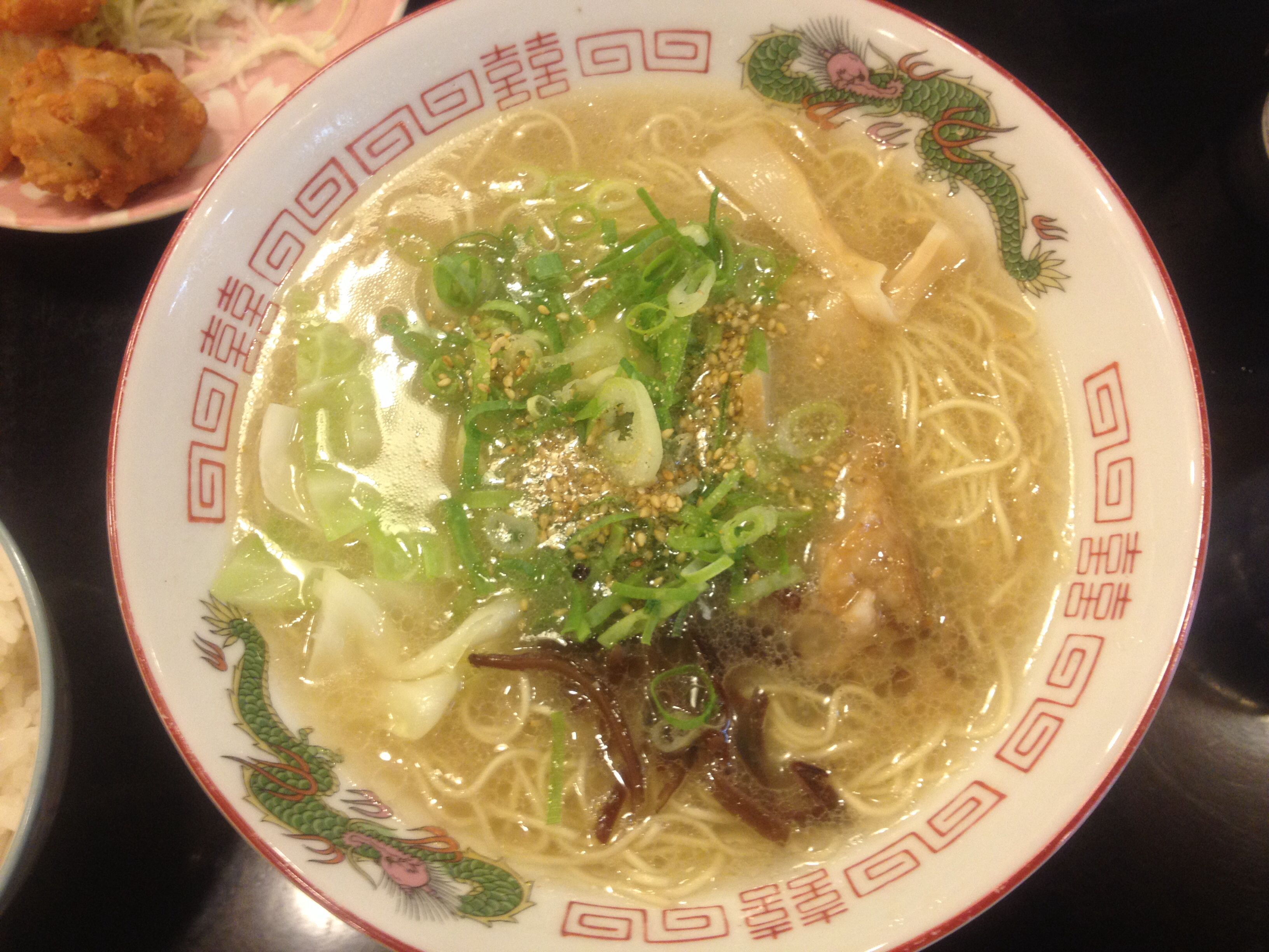 #ramen #noodle #lunch in #Hakata, #Fukuoka, #Japan   Taken by iPhone with store's lights at lunch