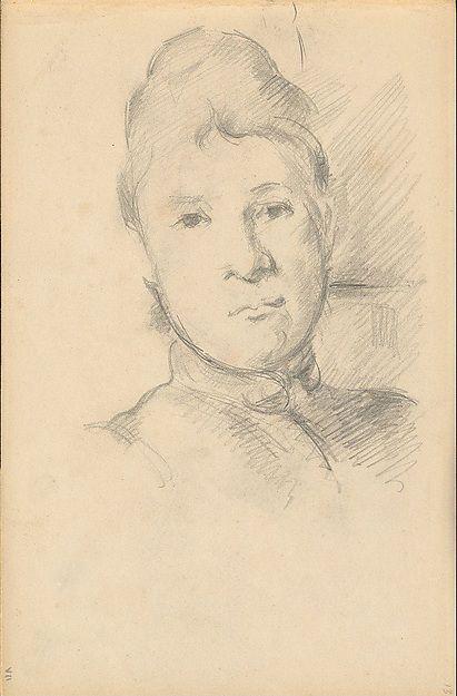 Cézanne: Madame Cézanne (National Gallery, Washington)