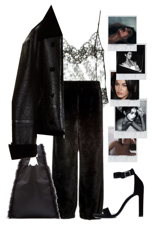 """""""show some nip."""" by nikkischeper ❤ liked on Polyvore featuring Givenchy, Simone Rocha, Vetements and Yves Saint Laurent"""