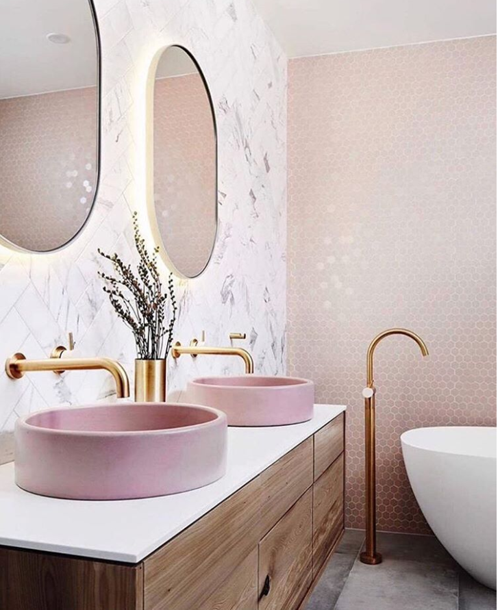 80 Adorable Millennial Pink Home Decor Ideas For My Rose Gold