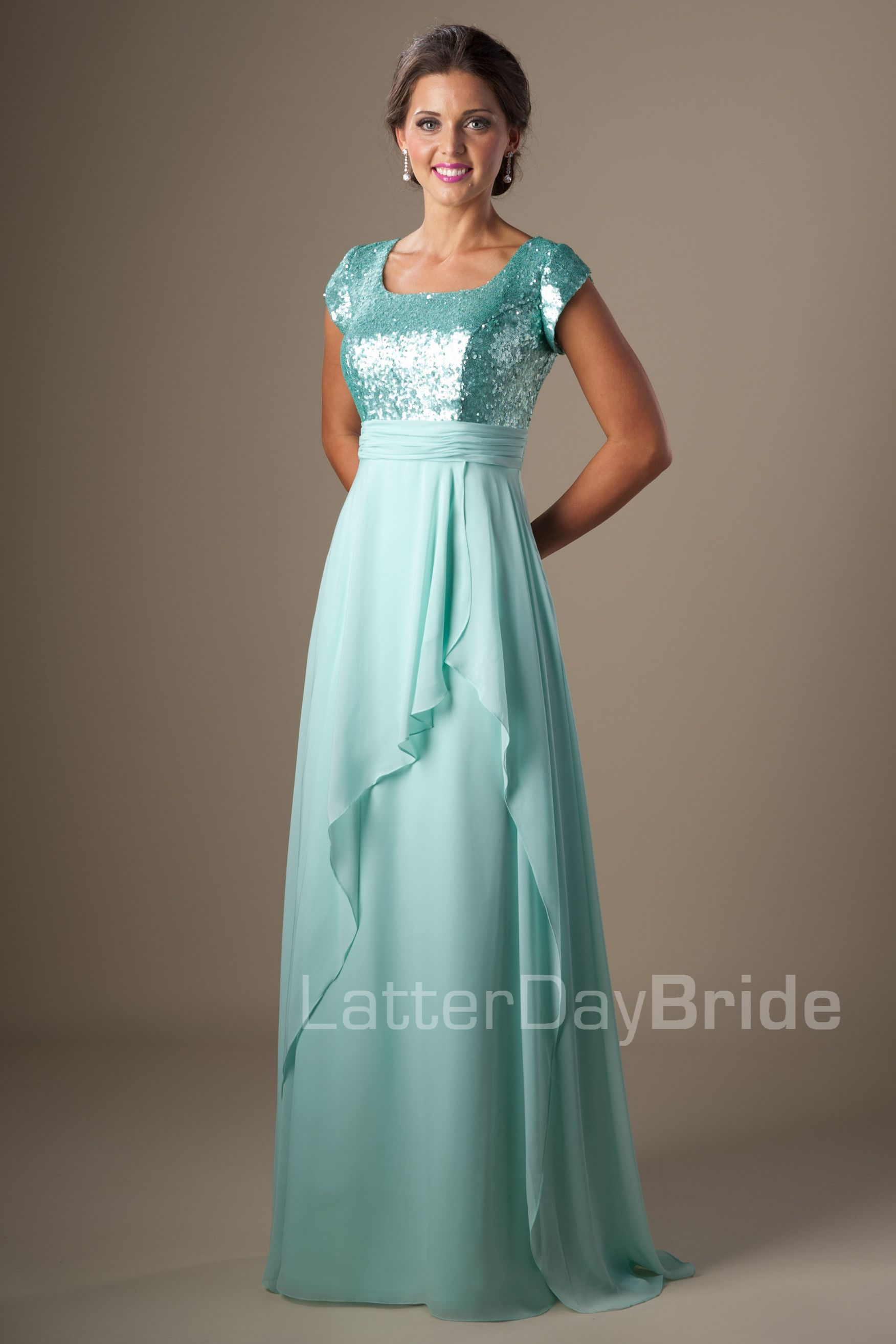 Modest Prom Dresses : Amelia | Modest Prom Dresses | Pinterest ...