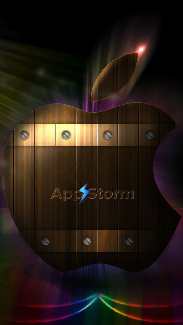 640x1136 Wallpaper app storm, apple, mac, colorful