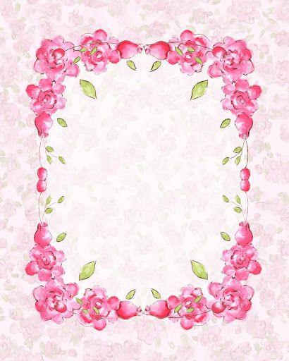 papeles de fondo - Maribel - Picasa Web Albums - pretty pink rose frame