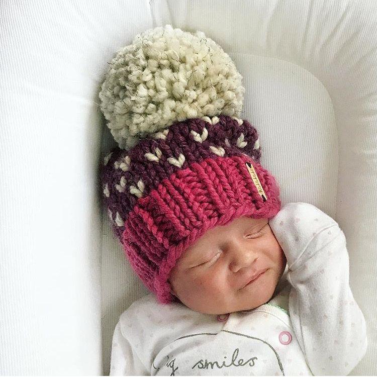 845abba649e Nickichicki tiny heart Beanie. Newborn hat. Baby girl hat.