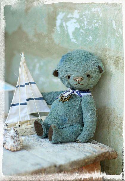 Мишки Тедди ручной работы. Ярмарка Мастеров - ручная работа. Купить Тёмчик. Handmade. Мишка тедди, игрушка ручной работы