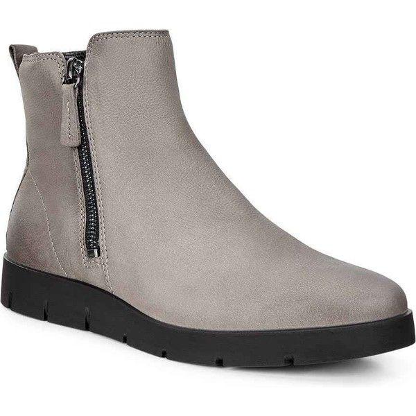 ecco women's bella zip high top ankle boot