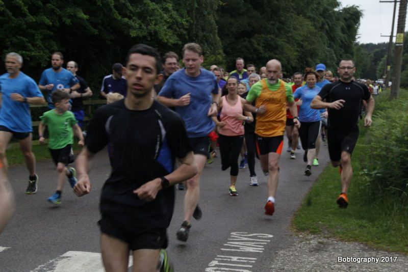 Start of cannock chase parkrun 10th june 2017