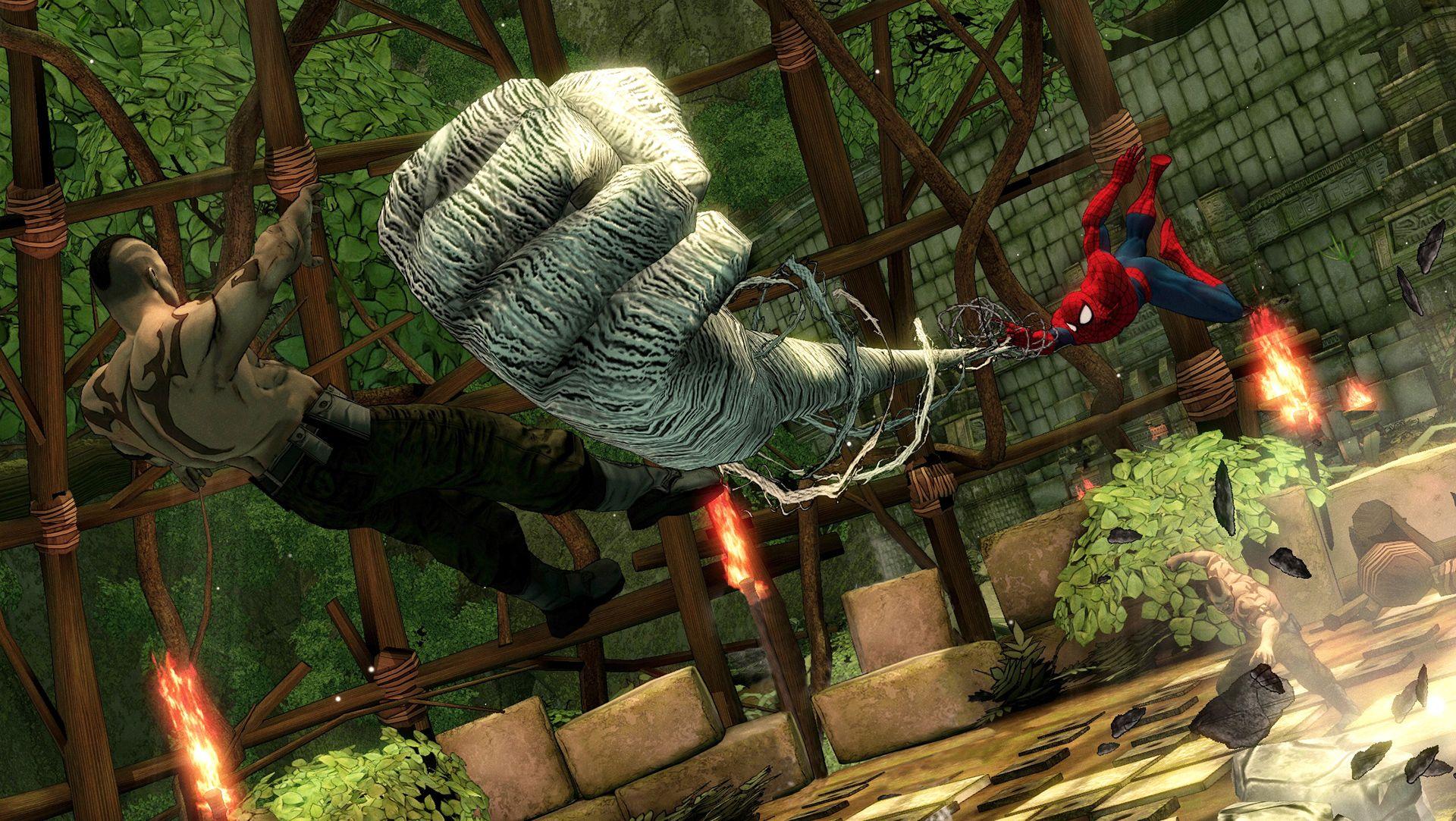 Amazing Spider-Man Shattered Dimensions | Spider Man Crawlspace ...