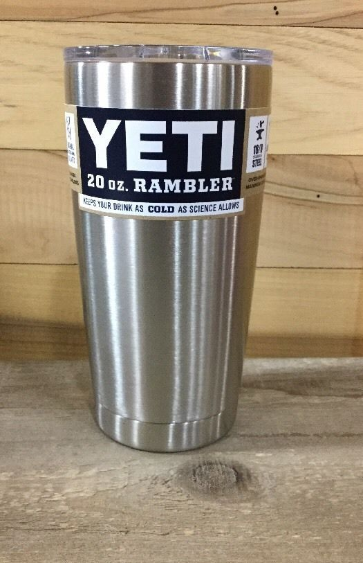 Case Of 24 Yeti 20oz Stainless Steel Rambler Tumbler Insulated W