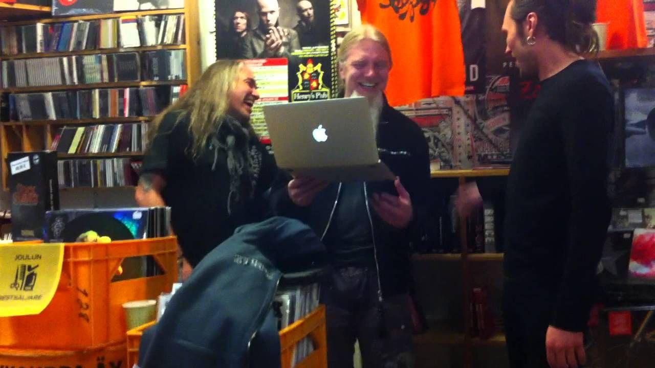 Raskasta Joulua - Tulkoon Joulu (acoustic) @ Levykauppa Äx (Kuopio) 11.1...