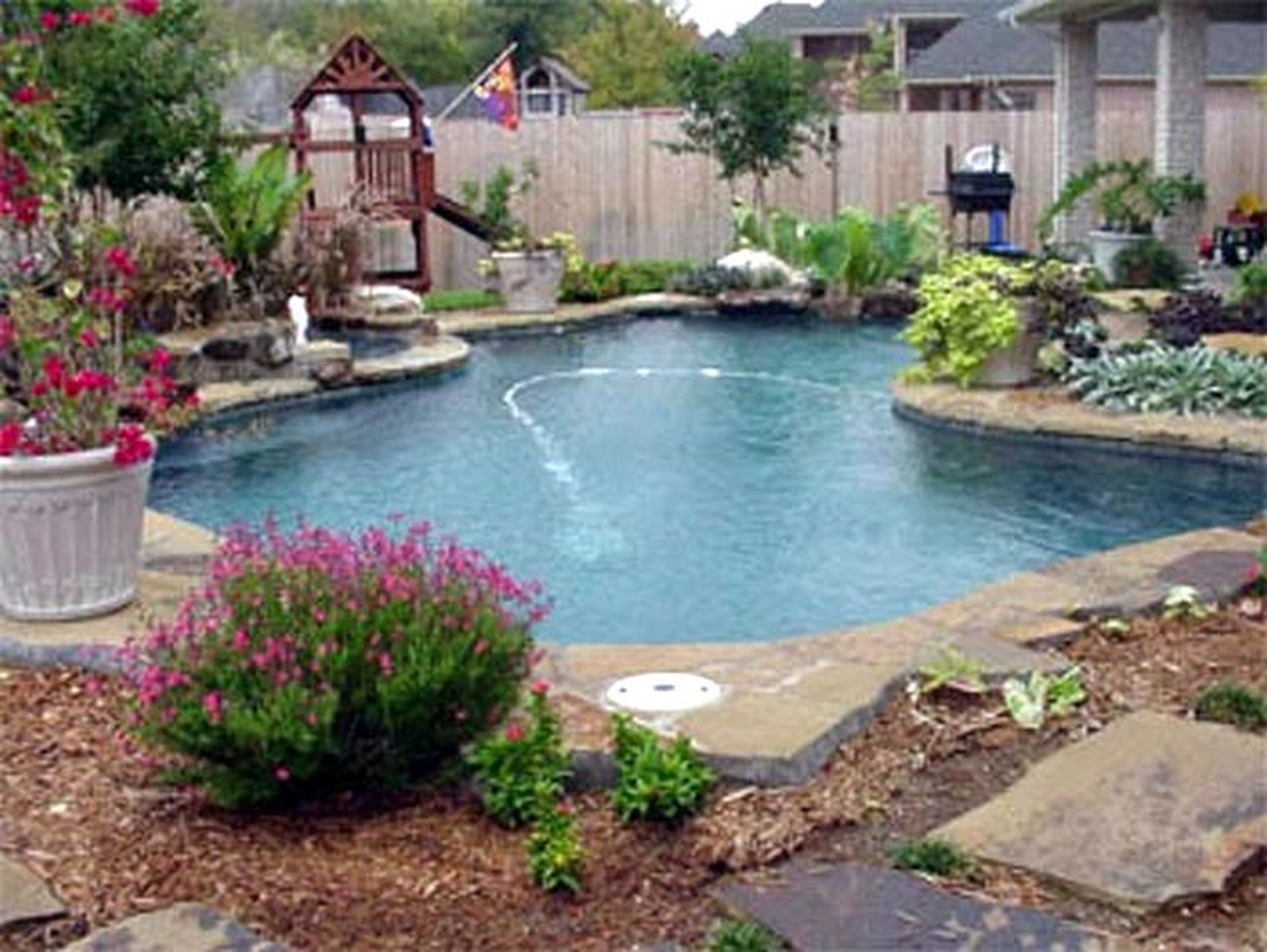10 Rock Garden Patio Ideas Elegant And Also Attractive Backyard Pool Landscaping Pool Landscaping Garden Pool Design