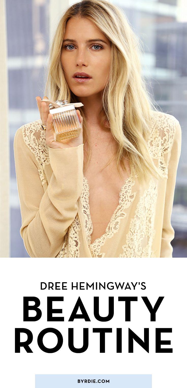 Dree Hemingway Takes Us Inside Her Low-Key Beauty Routine