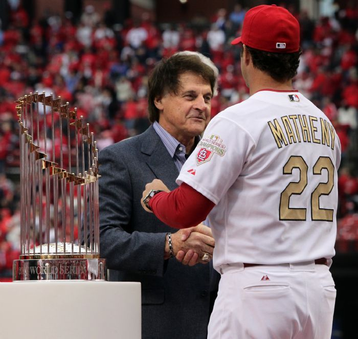 Mike Fiers In World Series: Changing Of The Guard . . Tony LaRussa And Mike Matheny