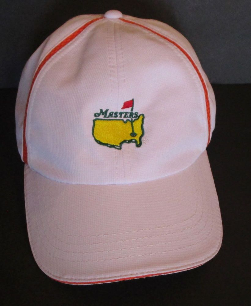 Masters Ahead USA Augusta White Ball Cap Style Golf Hat UPF 50+ OSFM Nice  Clean  Masters  BaseballCap f6ab95623de