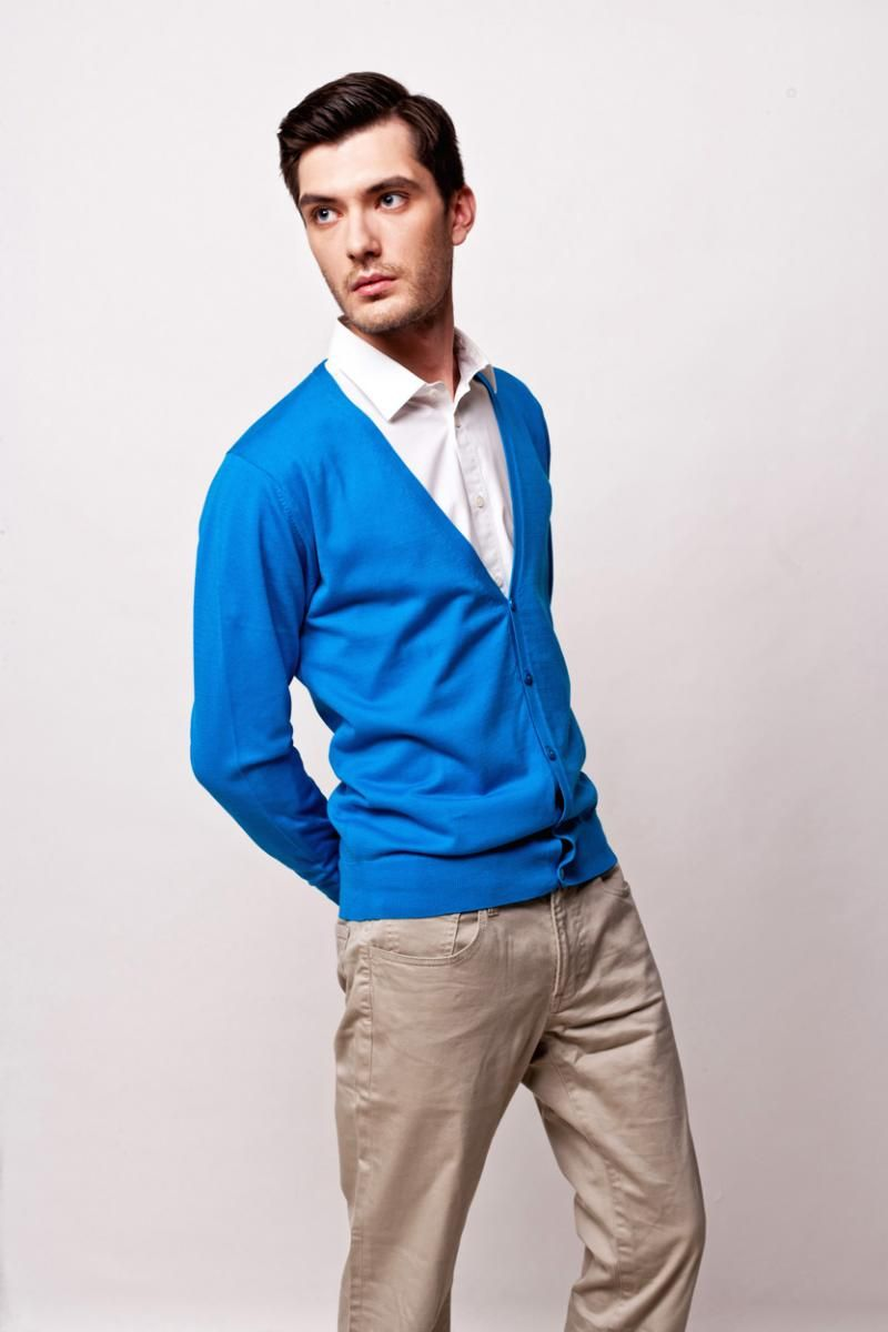 Royal Blue Cardigan, $102 | Men's Cardigans - Spring Summer 2012 ...