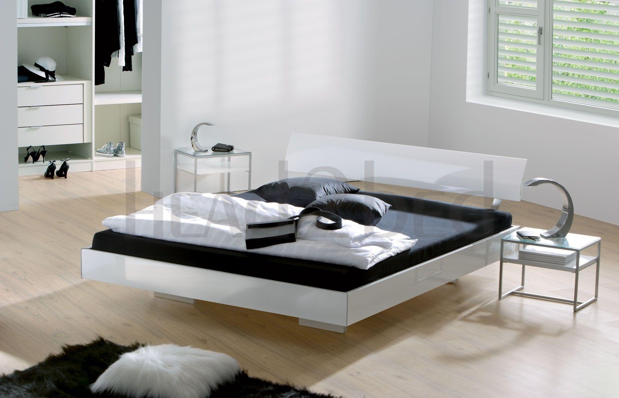 Hasena Movie Line Vilo Spyd Contemporary High Gloss Bed Bed Design Bedroom Design Contemporary Bed