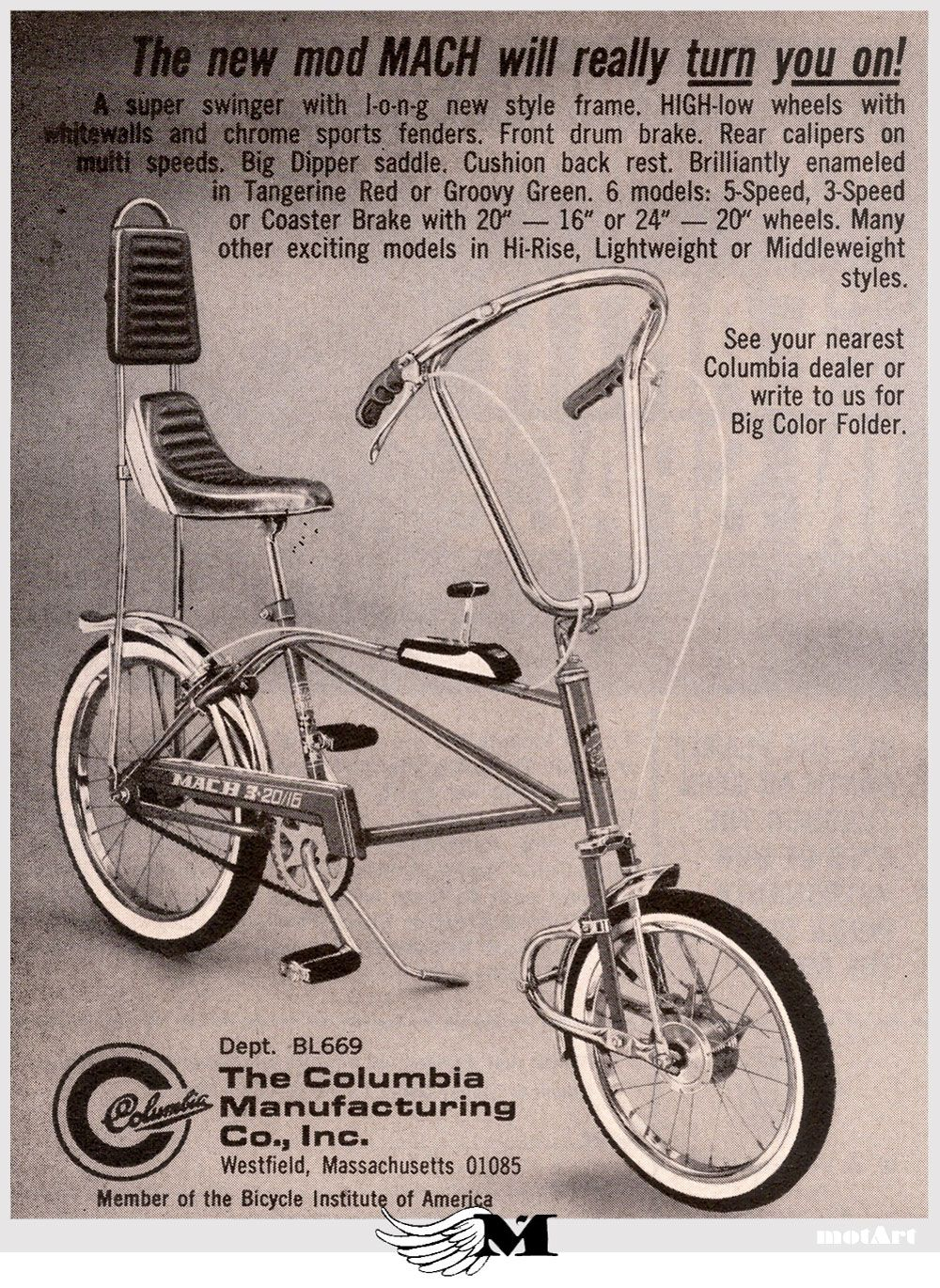 By the late 60's the muscle bike wars continued to produce