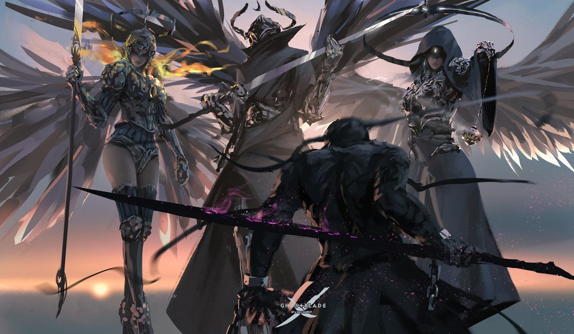Patreon | GhostBlade Will provide 4K wallpaper, PSD file and