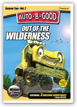 Auto-B-Good: Out of the Wilderness // When EJ and Izzi adopt a lost car in the wilderness and take him home, they learn the importance of being friendly, peaceful and grateful. Also included is a bonus episode about what being a true sport means. Give your child life changing values told with exciting characters and award-winning animation they will love!
