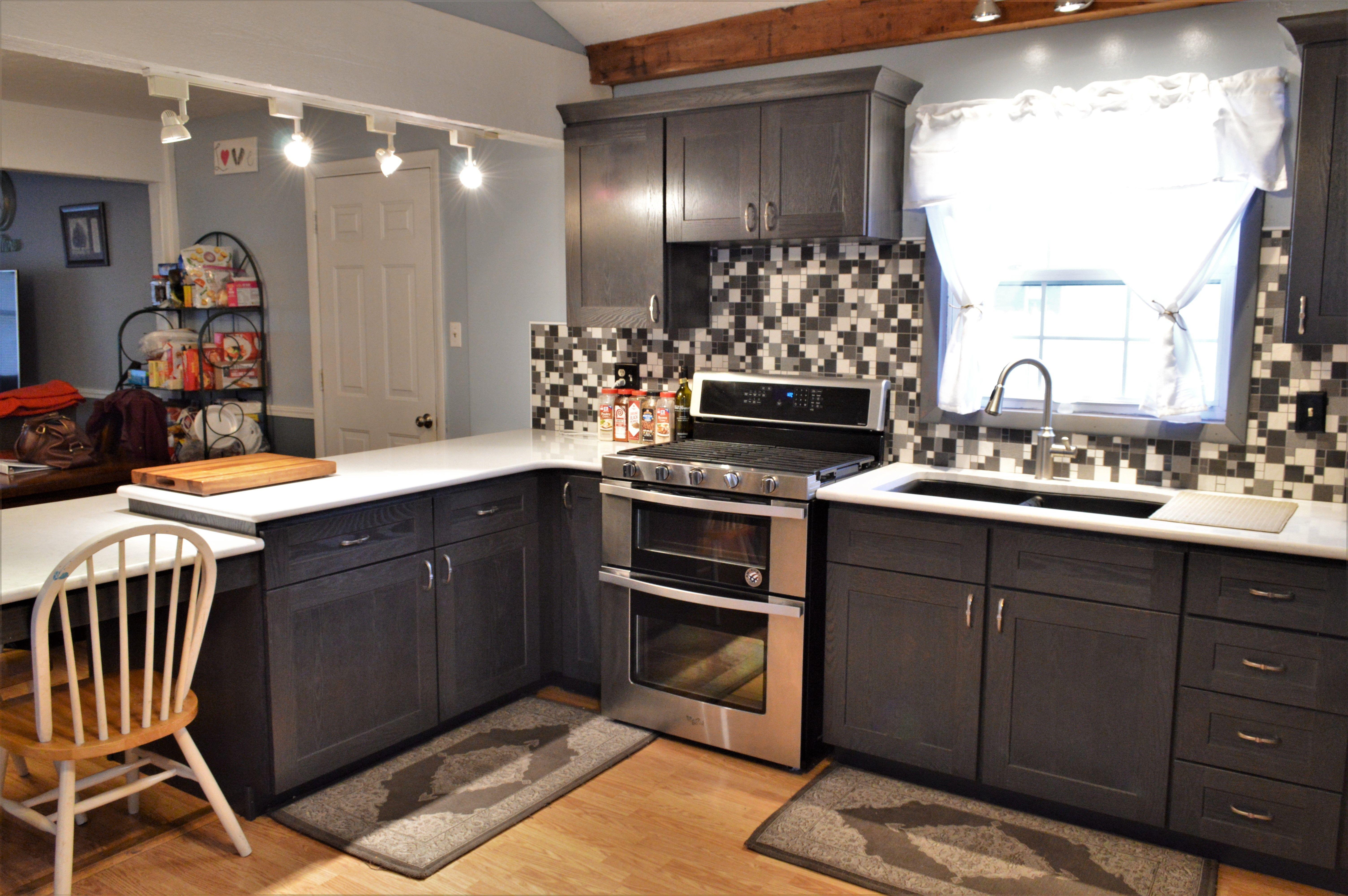 Bailey's Cabinets. BaileyTown USA Select, Oak, Driftwood ...