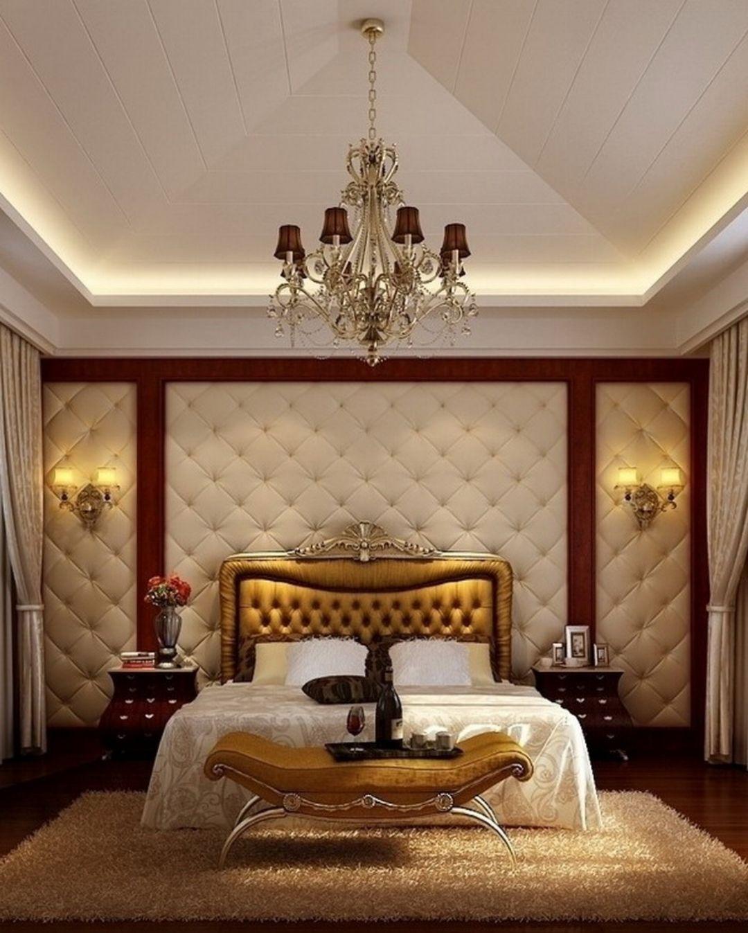 Traditional romantic master bedroom decor   Gorgeous Master Bedroom Designs  Bedrooms Luxury bedding sets
