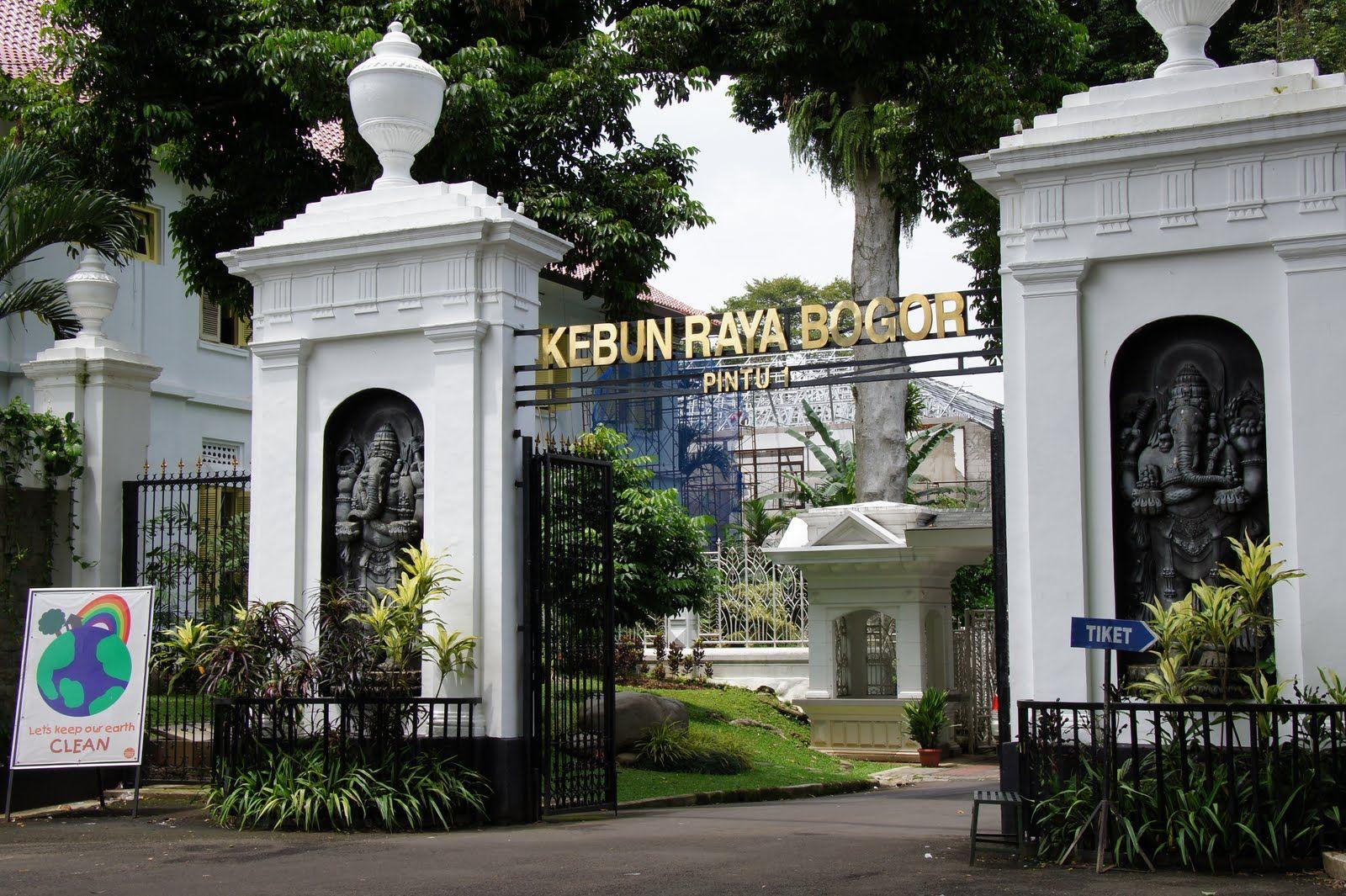 Bogor Botanical Garden Kebun, Kota bogor, Tempat