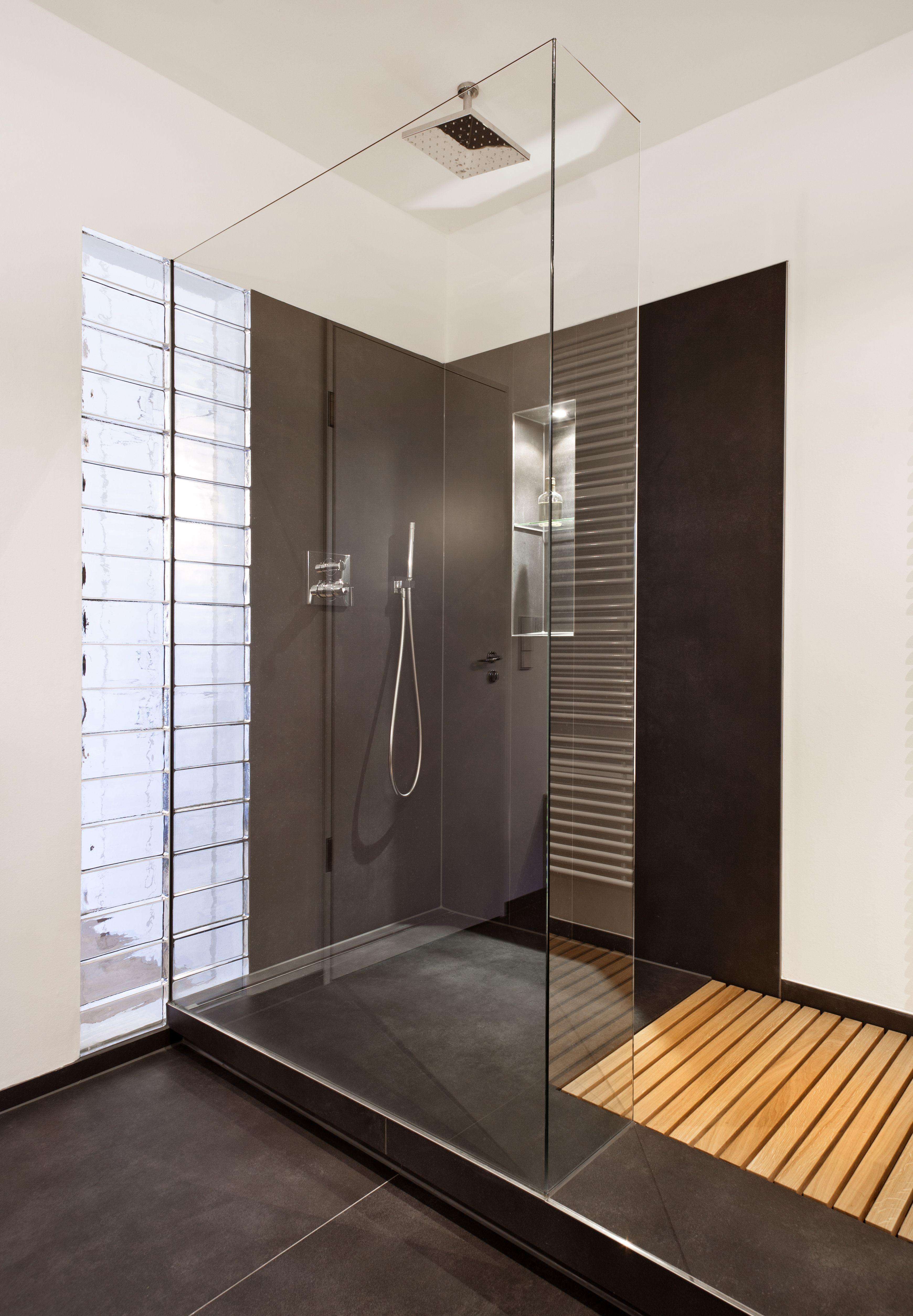 Badgestaltung Brême, Carreaux Noirs, Lauze, Design Produit, Salle De Bains