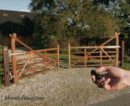 Five Bar Gates Hoover Fence Co Ornamental Wooden